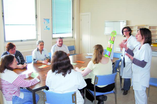 séance d'éducation thérapeutique (ETP)